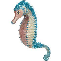 Sequin Seahorse Ornament