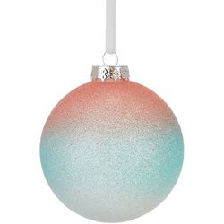 Brighten the Season Glitter Ombre Ball Ornament