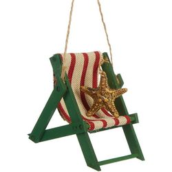 Beach Chair & Starfish Ornament