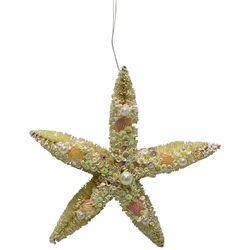 Brighten the Season Bejeweled Starfish Ornament