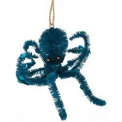 Brighten the Season Fuzzy Octopus Ornament