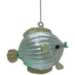 Brighten the Season Fish Glitter Fin Ornament
