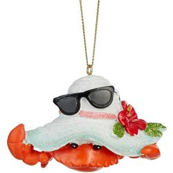 Crab & Hat Ornament