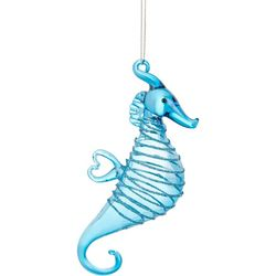 Brighten the Season Seahorse Heart Shaped Fin Ornament
