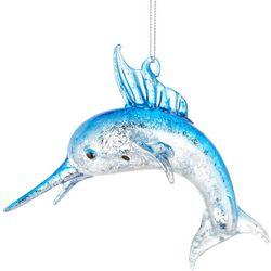 Brighten the Season Swordfish Glass Ornament