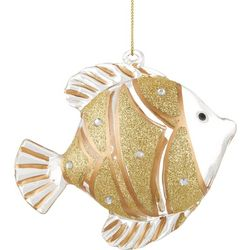 Brighten the Season Tropical Fish Glass Ornament