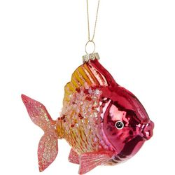 Brighten the Season Fish Glitter Ombre Ornament