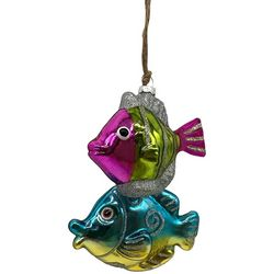 Brighten the Season Two Tropical Fish Ornament
