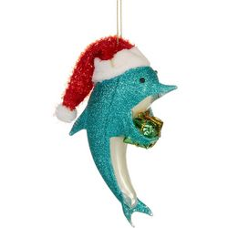 Brighten the Season Dolphin & Gift Ornament