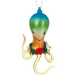 Brighten the Season Octopus & Lei Ornament