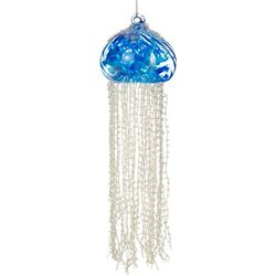 Jellyfish Beaded Ornament