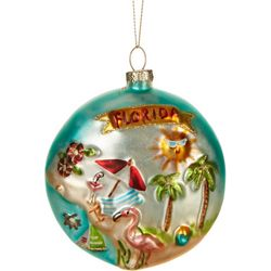 Florida Disk Ornament