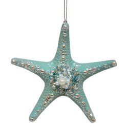 Starfish & Pearls Ornament