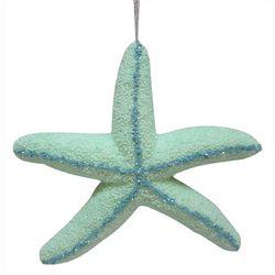 Brighten the Season Sequin Glitter Foam Starfish Ornament