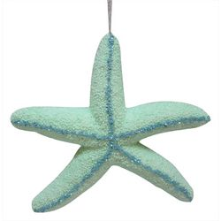 Sequin Glitter Foam Starfish Ornament