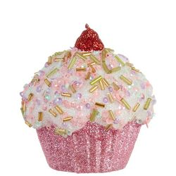 Cupcake Cherry Ornament