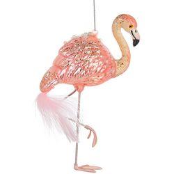 Flamingo & Feathers Ornament