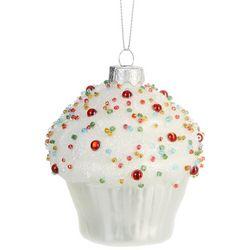 Brighten the Season Beaded Cupcake Ornament