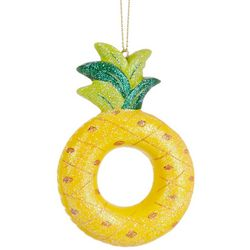 Brighten the Season Pineapple Pool Float Ornament