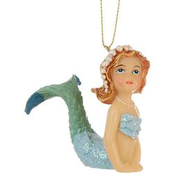 Brighten the Season Mermaid Shimmer Tail Up Ornament