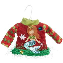 Mermaid Sweater Ornament