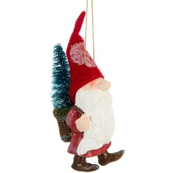 Brighten the Season Gnome & Christmas Tree Ornament
