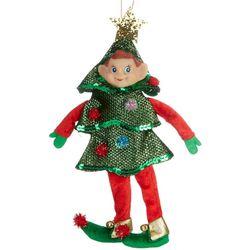 Brighten the Season Elf Tree Costume Ornament
