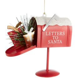 Brighten the Season Letters To Santa Mailbox Ornament