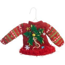 Sweater Palm Tree Ornament