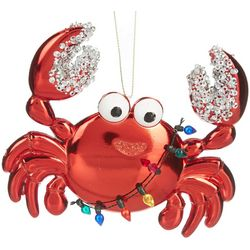 Beaded Crab Ornament