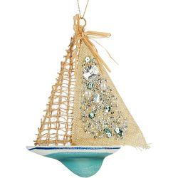 Brighten the Season Windsurfing Board Ornament