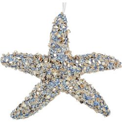 Brighten the Season Foam Beaded Starfish Ornament