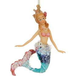 Brighten the Season Mermaid Sequin & Pearl Ornament