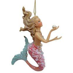 Flowy Hair Mermaid Ornament