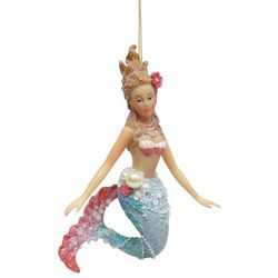 Brighten the Season Mermaid & Flower Hair Ornament