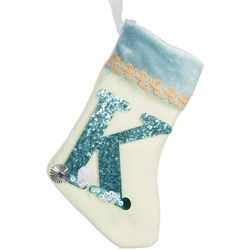 Glitter K Mini Stocking