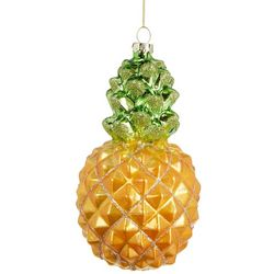 Brighten the Season Glitter Pineapple Ornament