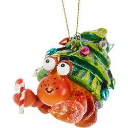 Crab & Tree Shell Ornament