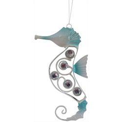 Seahorse Rhinestones Metal Ornament