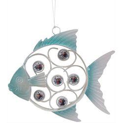 Fish Rhinestone Metal Ornament