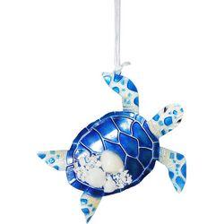 Capiz Sea Turtle Ornament