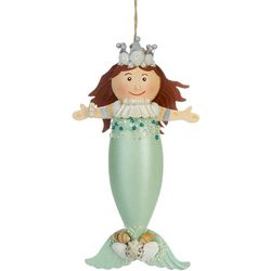 Brighten the Season Queen Mermaid Ornament