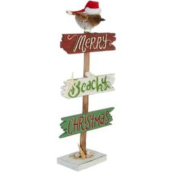 Brighten the Season Merry Beachy Christmas Tabletop Decor