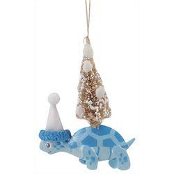 Brighten the Season Turtle & Tree Ornament