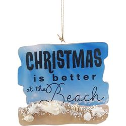 Brighten the Season Christmas At The Beach Ornament