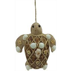 Brighten the Season Sea Turtle Sea Shell Ornament