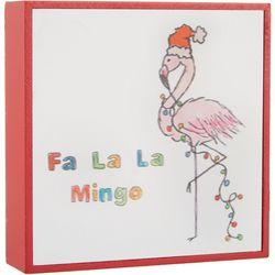Fa La La Mingo Flamingo Box Decor