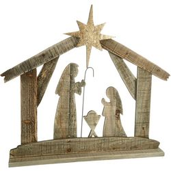 TradSie Nativity Wood Tabletop Decor