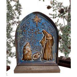 Nativity Metal Figurine