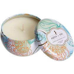 8 oz. Lotus Blossom Acai Tin Candle